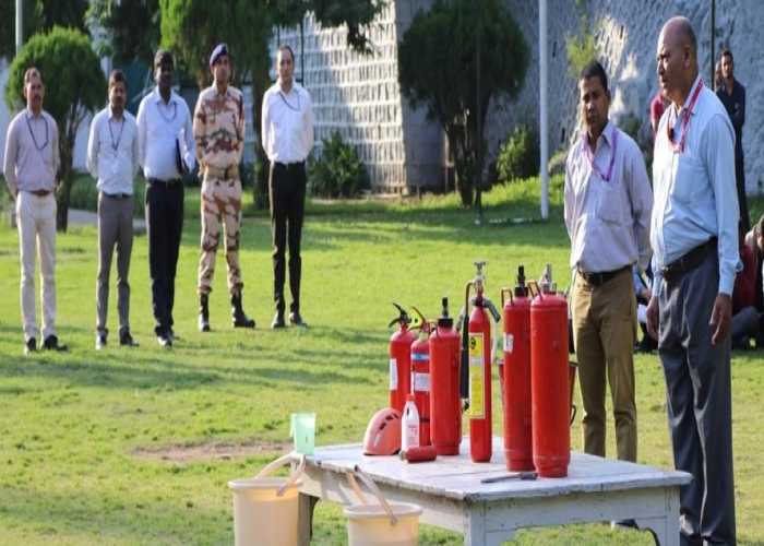 Training on Fire Safety