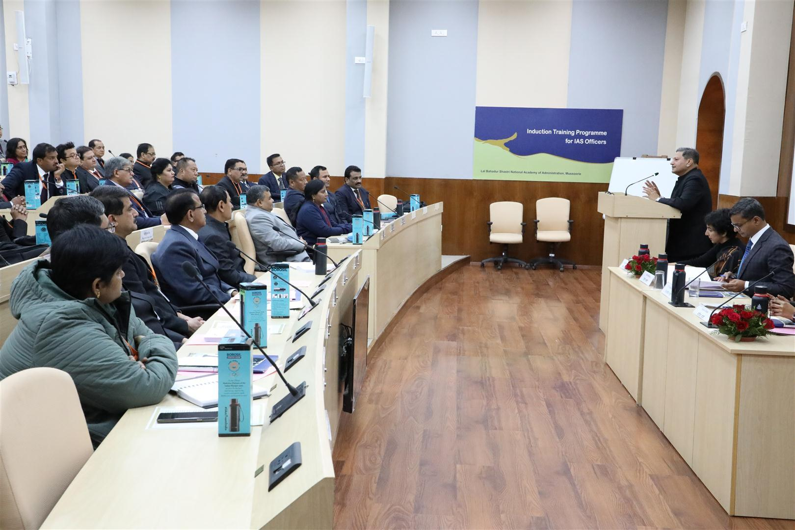 Inaugural Programme of 122nd Induction Training Programme
