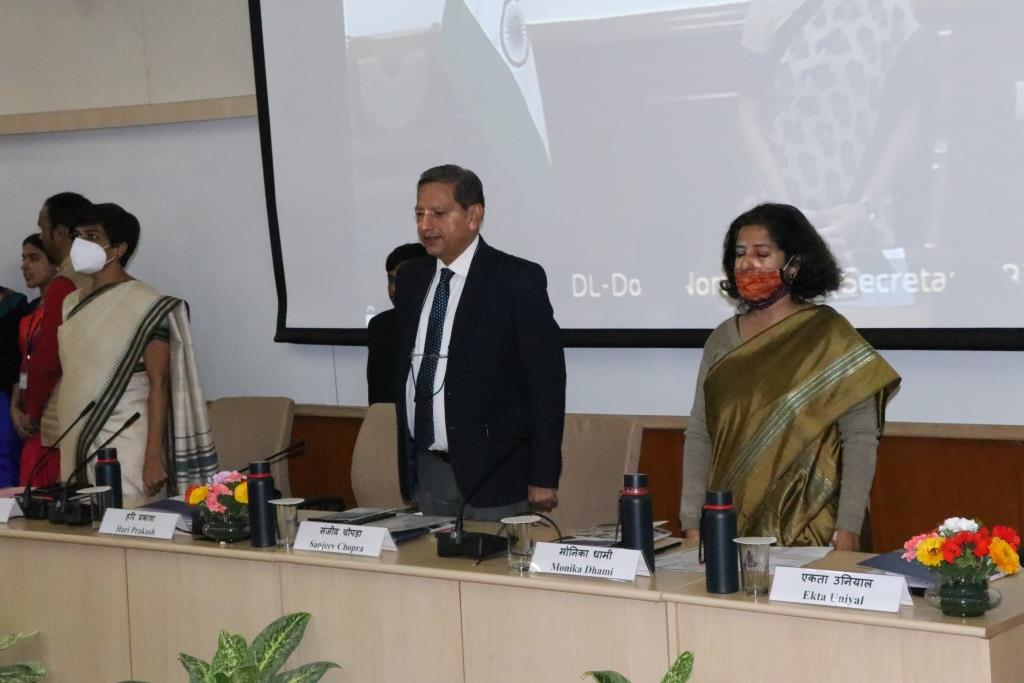 Inauguration function of 123rd Induction Training Programme for IAS Officers