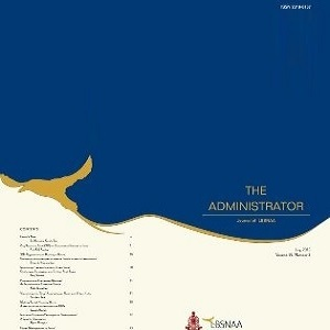 The Administrator (Vol.56 No.2) July 2015
