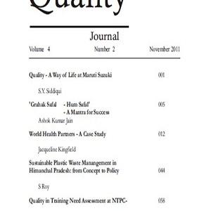 Service Quality Journal (November 2011 Vol.4. No.2)