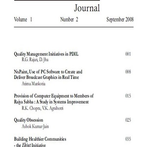 Service Quality Journal, September 2008 Vol.1 No.2