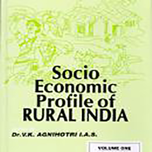 Socio-Economic Profile of Rural India: Volume One (South India) Edited by Dr. V.K. Agnihotri, IAS, 2002, Concept Publishing Company, New Delhi