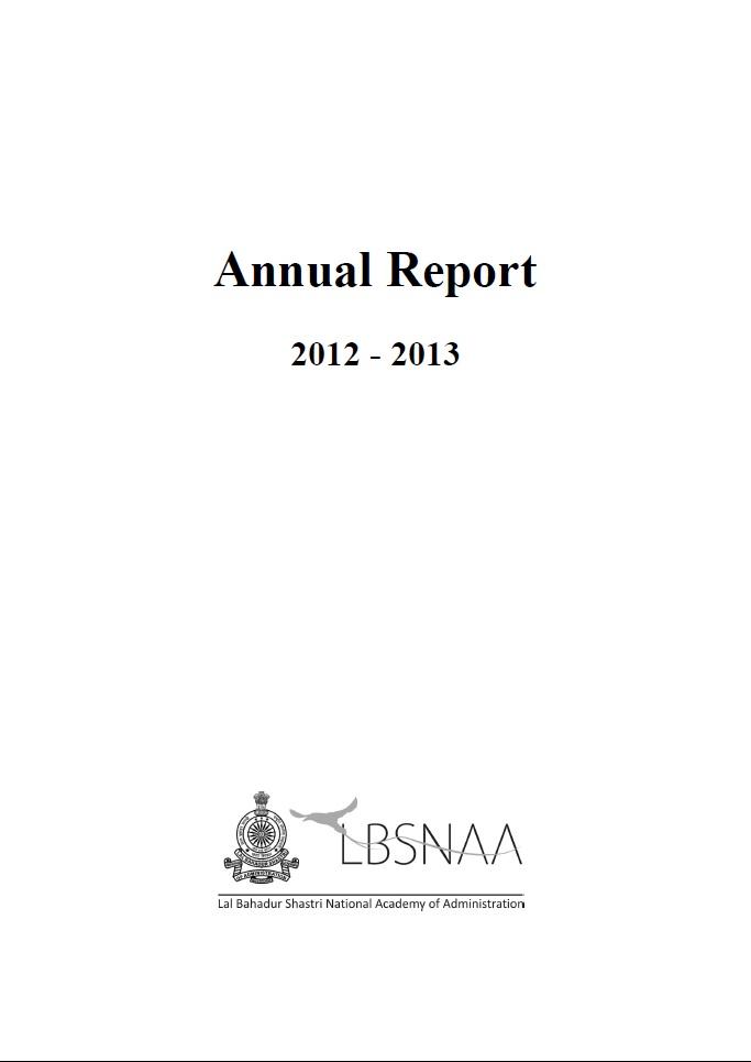 Annual Report 2012-2013