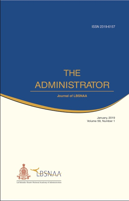 The Administrator Vol.59 No.1 Jan 2019