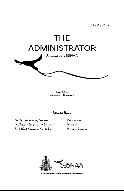 The Administrator Vol.57 No.2 July 2016