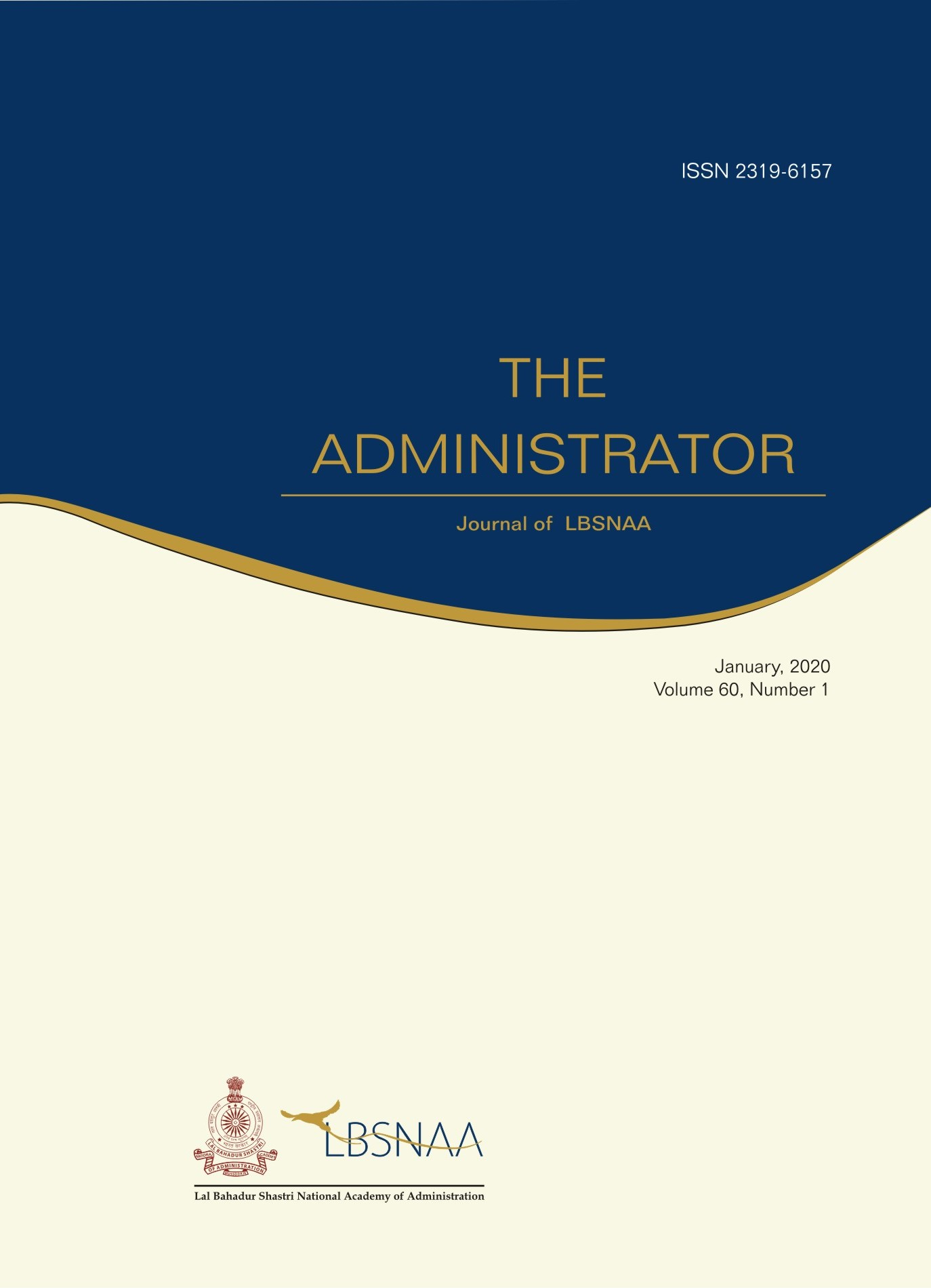 The Administrator Vol.60 No.1