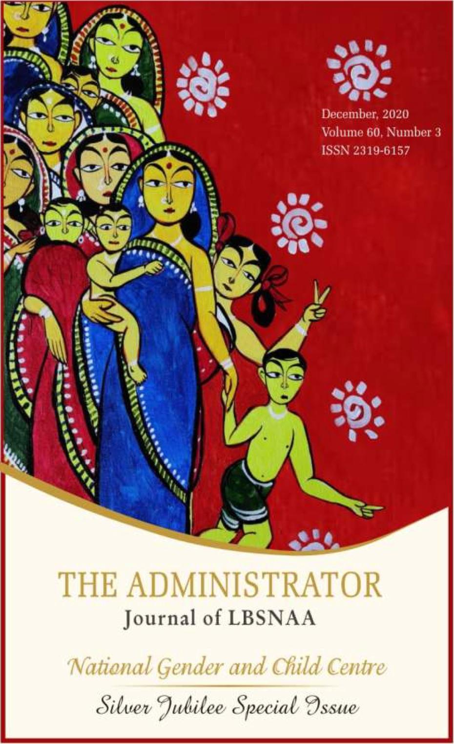 The Administrator Volume 60, Number 3 December, 2020