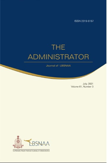 The Administrator Volume 61 Number 3 July, 2021