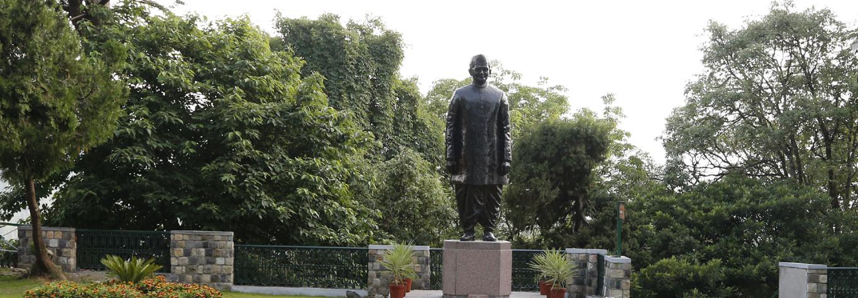 Statue of Shri Lal Bahadur Shastri in the Charleville Campus