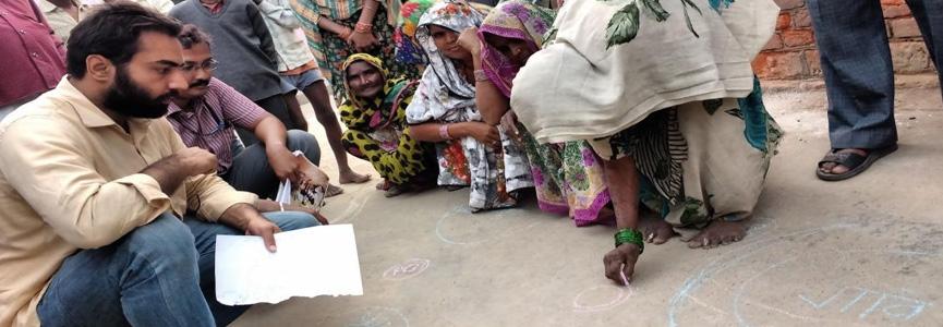 PLA Exercise During Village Visit