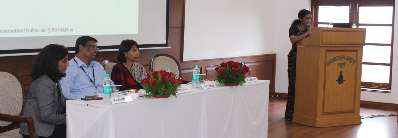 "Workshop on ""Stepping up to India's Nutrition Challenge: The Critical Role of Policy Makers"""