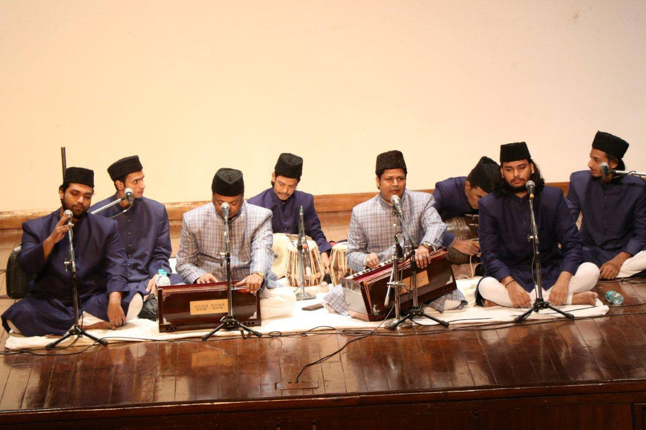 Qawwali evening with the performance of Warsi brothers
