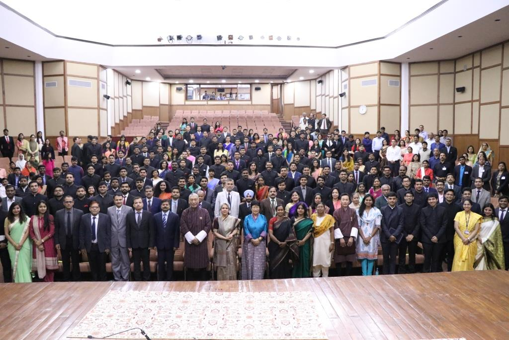 Valedictory Function of IAS Professional Course Phase-I (2017 batch)
