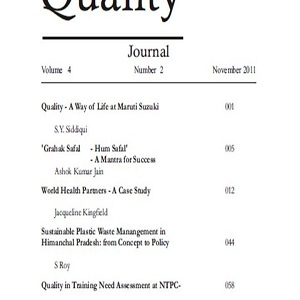 Service Quality Journal (November 2011 Vol.4. No.2)