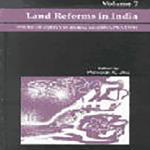 Land Reforms in India: Volume.7-Issues of Equity in Rural Madhya Pradesh Edited by P.K. Jha, 2002, Sage Publications, New Delhi.