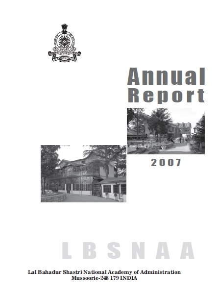 Annual Report-2007