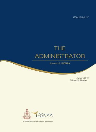 The Administrator (Vol.58 No.1) January 2018